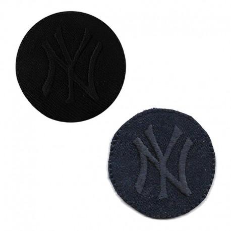 Applicazione Termoadesiva Ovale FF mini BLU - 8204B Marbet