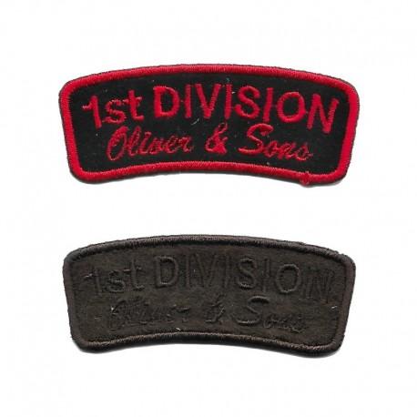 Applicazione Termoadesiva Polo Team Scudetto BLU - 9655B Marbet