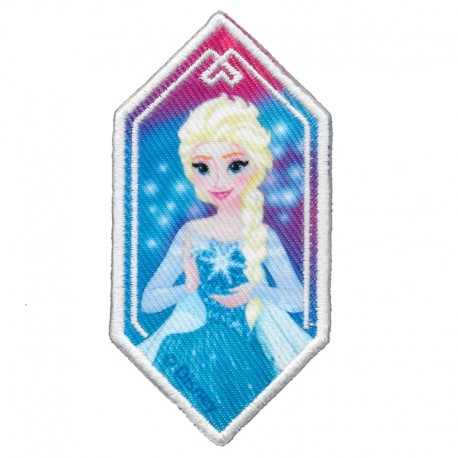 Disney Elsa FROZEN toppa patch applicazione termoadesiva