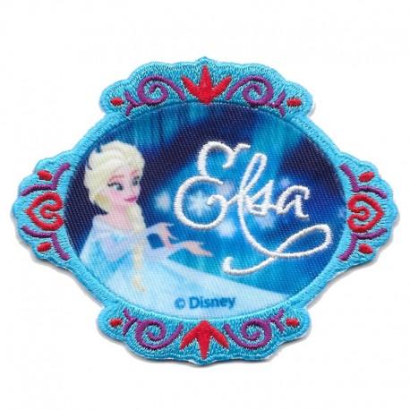 Disney FROZEN elsa e anna patch Applicazione ricamata termoadesiva