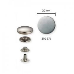Bottoni a pressione ANORAK disegno Piano FERRO ANTICO PALLIDO 20mm - 390376 Prym
