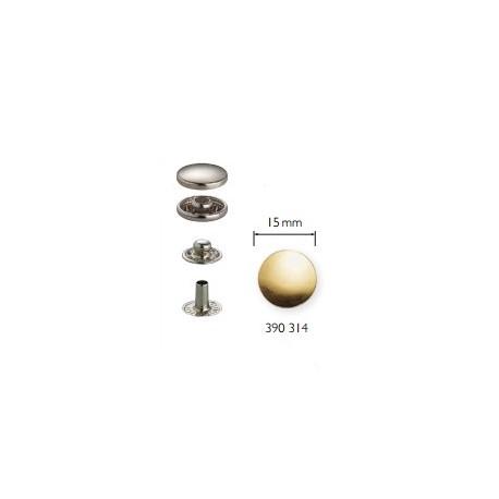 Bottoni a pressione ANORAK ORO 15 mm - 390314 Prym