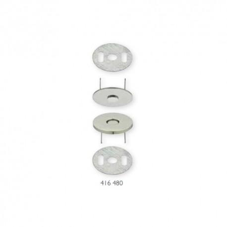 Chiusura magnetica Argento diametro 19mm - 416480 Prym