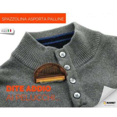 SPAZZOLINA levapelucchi ASPORTA PALLINI e rasa lana - 93 Marbet