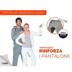 Rinforzi Olympic in Jersey per pantaloni termoadesivi