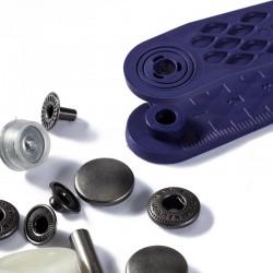 Bottoni a pressione ANORAK FERRO ANTICO 15 mm