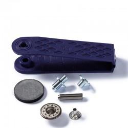 Bottoni per Jeans 17 mm OTTONE ANTICO cappuccio aperto, disegno stella - 622239 Prym