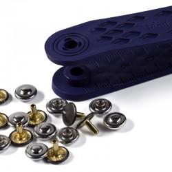 Rivetti per Jeans 9 mm Argento/Ferro Antico - 403101 Prym