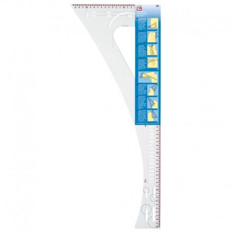 REGOLO SQUADRA per SARTI aiuta nel tracciare e marcare - 611499 Prym