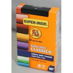 Super Iride colorante classico per tessuti NERO