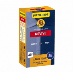 Super-Iride Revive Lava e Tinge Blue Marino
