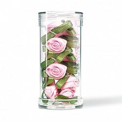 Rose Satin piccole Gutermann - 10 pezzi