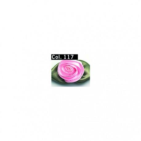 Rose Satin grandi 5 pezzi - 616435 Gutermann
