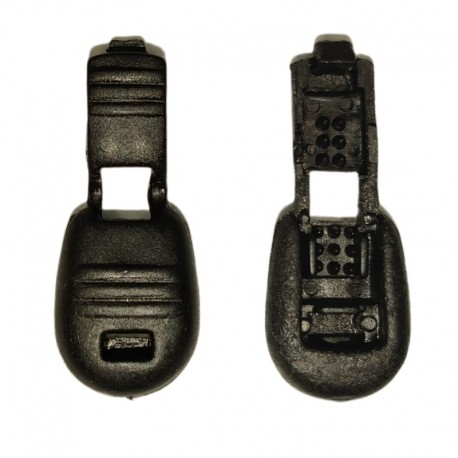 Fermacorda (bloccanodo) in plastica NERO