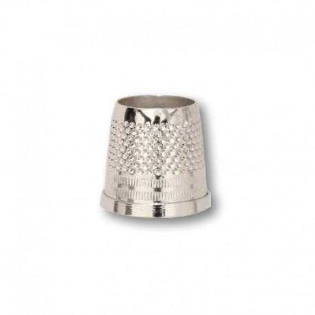 Ditale UOMO Aperto in ottone nichelato 19mm - Ercole Fumagalli