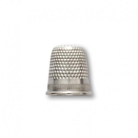 Ditale 17mm in ottone nichelato - Ercole Fumagalli