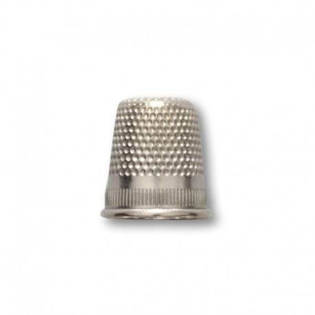 Ditale 18mm in ottone nichelato - Ercole Fumagalli