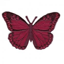Farfalla grande ROSSO SCURO