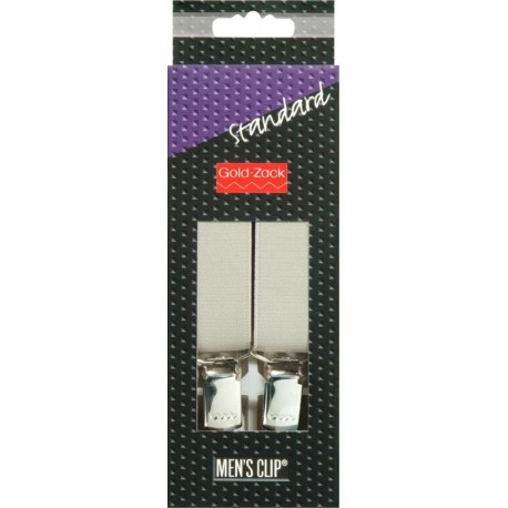 Bretelle per Uomo Standard GRIGIO ARGENTO 25 mm / 110cm - 944104 Prym