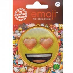 Emoji Occhi a Cuore, Faccina con sorriso e occhi a cuore