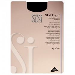 SiSi Style 15 den Collant XL - Taglia comoda Calibrato