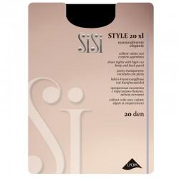 SiSi Style 20 den Collant XL - Taglia comoda Calibrato
