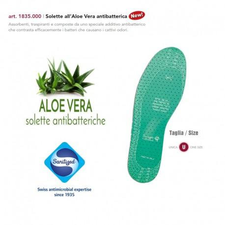 Solette per scarpe con Aloe Vera Antibatterico - 185.005 Marbet
