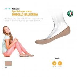 Minicalze BABETTE in cotone per scarpe modello BALLERINA