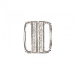 Gancio chiusura in metallo 25 mm