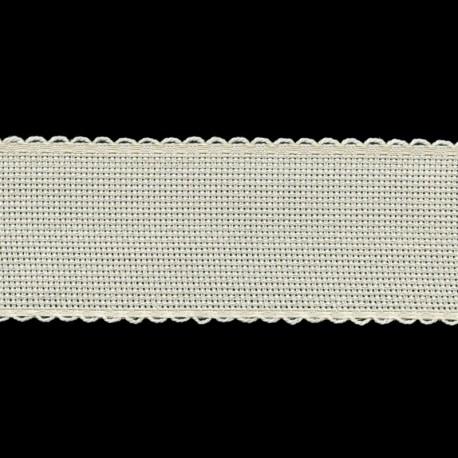 Bordo in tela Aida altezza 50 mm per ricamo - Petri & Grossi