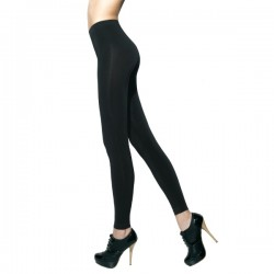 Leggings push-up coprente in morbida microfibra