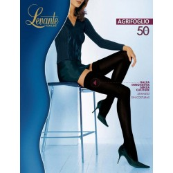 Agrifoglio 50 den calza autoreggente - Levante Calze