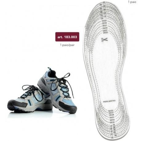 Solette in feltro per scarpe, morbide e calde - 183.003 Marbet