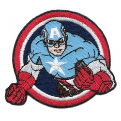 Capitan America, AVENGERS toppa termoadesiva