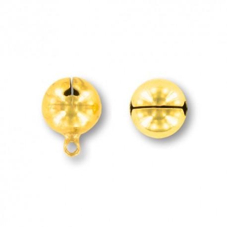 Campanello in metallo dorato 10mm - K813 Benox