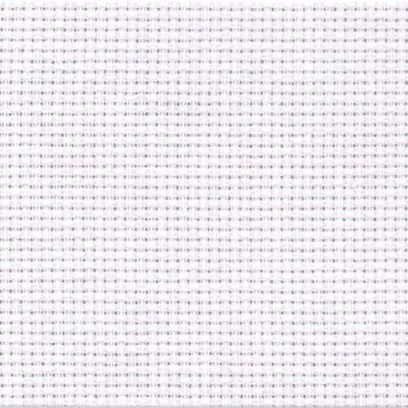 Tela AIDA in cotone 55 fori Bianco per punto croce