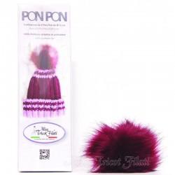 Pon Pon Ø 12cm in ecopelliccia (pompon)