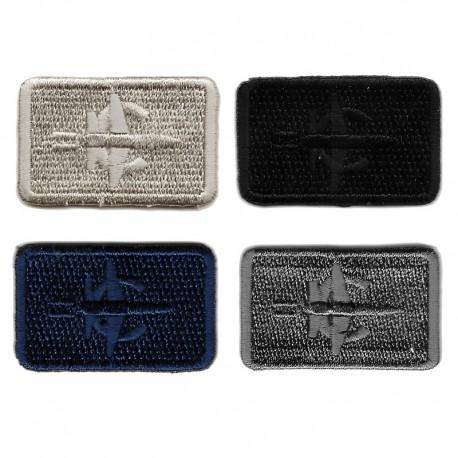 Applicazione Termoadesiva Bocciolo Rosa - 9763B Marbet