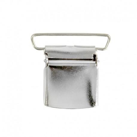 Gancio per Bretelle classico (clip bretelle) passante fibbia 36 mm