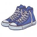Scarpe sneakers applicazione ricamata