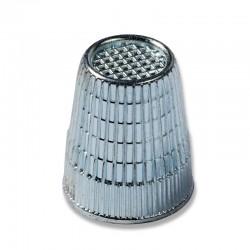 Ditale zinco 17 mm ARGENTO