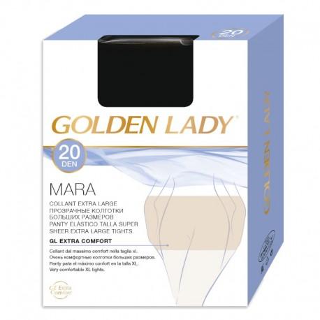 Collant velato calibrato XL 20 den MARA - Golden Lady