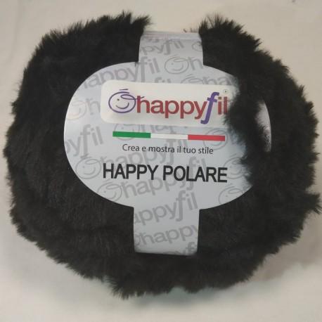 Lana Happy Polare filato pelliccia eco fur di Miss Tricot Filati - colore 103 nero