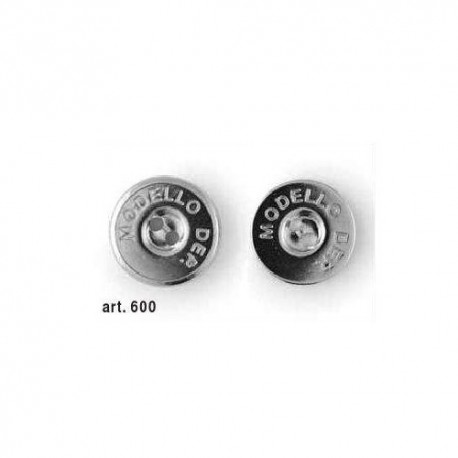 Bottone calamita da cucire Chiusura magnetica Argento 20mm