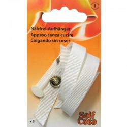 Attacca strofinacci / Clips per asciugamani BIANCO