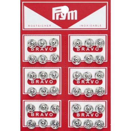 Bottoni automatici da cucire Prym in metallo diametro 7 mm