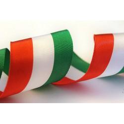 Nastro Tricolore Italia 25mm