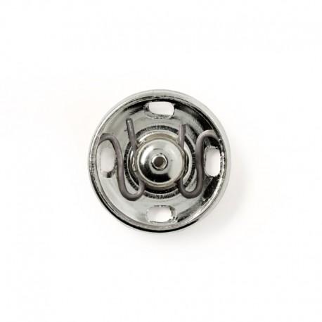 Bottoni Automatici ARGENTO 17 mm - 341253 Prym