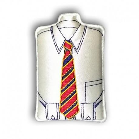 Extra Lungo Cravatta Microfibre Solido Uomo Tessuto Jacquard XL Cravatta 63