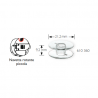 Bobine per navetta rotante diametro 21,2 mm altezza 9,2 mm - 610360 Prym